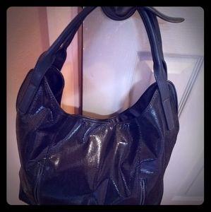 GENTLY USED Sondra Roberts large shoulder bag